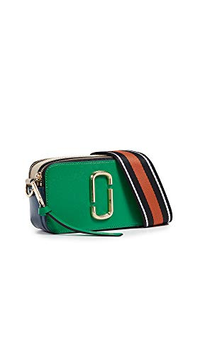 - Marc Jacobs Women's Snapshot Camera Bag, Green Multi, One Size