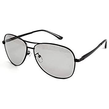 VOLCHIEN Photochromic Aviator Sunglasses for Men Women Polarized UV400 Protection Spring Hinge Lightweight VC1019