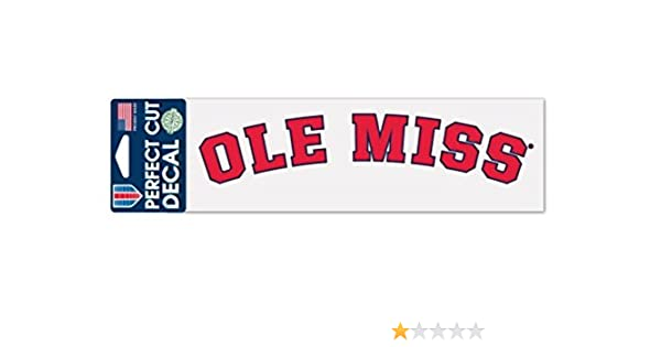WinCraft NCAA University of Mississippi WCR24878014 Perfect Cut Decals 2 x 17