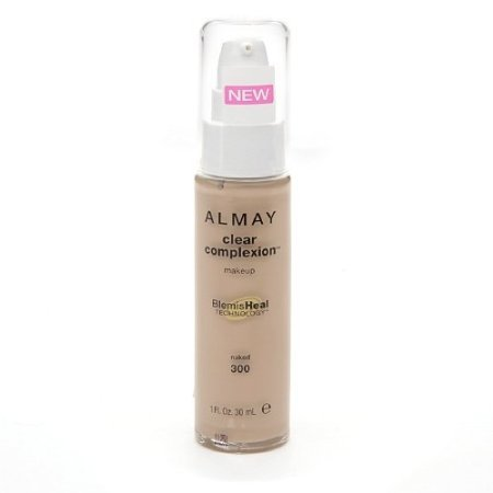 Almay Clear Complexion Makeup, Naked [300] 1 oz (Pack of 2)