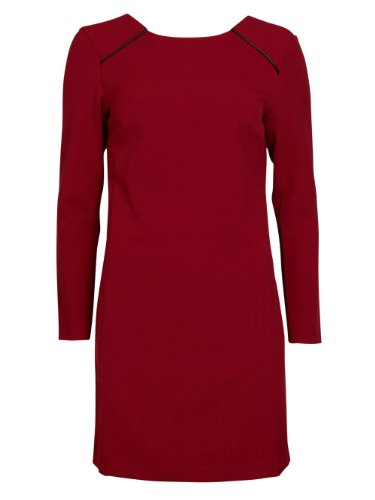 Vila - Vestido - para mujer Rojo