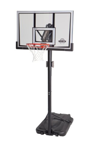 Lifetime 90061 Portable Basketball System, 52 Inch Shatterproof Backboard by Lifetime