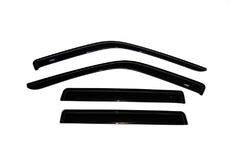 Auto Ventshade 94320 Original Ventvisor Side Window Deflector Dark Smoke, 4-Piece Set for 1993-1998 Jeep Grand Cherokee