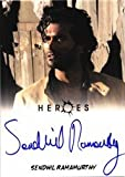 Heroes Archives Autograph Card Sendhil Ramamurthy as Mohinder Suresh