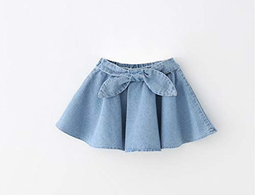 TreeMart New Summer Style Lovely Girls Jeans Tutu Skirt Pettiskirt s Denim Skirts Princess Dance wear Party Clothes by TreeMart