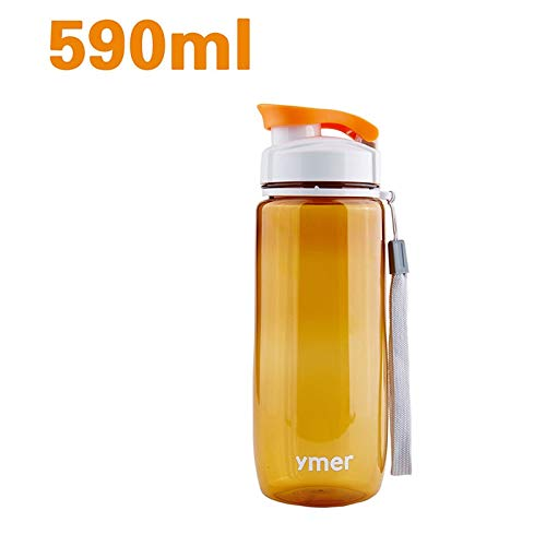 HURA Outdoor Tablewares - 560ml 590ml Outdoor Tableware Portable Plastic Water Bottle Simple Design Leakproof Sports Travel Space Cup Y6jj 1 PCs