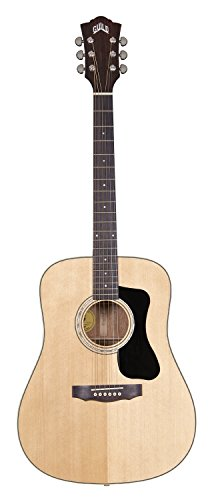 Guild GAD Series D-150 Dreadnought Acoustic Guitar with Deluxe Hardshell Case - Natural Guild Gad