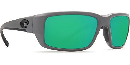 Costa Del Mar Fantail 580P Fantail, Matte Gray Green Mirror, Green - Matte Fantail Costa Gray