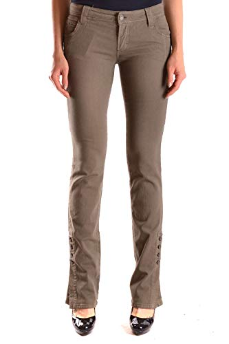 Mujer Algodon Mcbi24599 Galliano Jeans Verde pq4ww6d