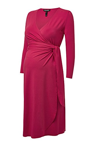 - Isabella Oliver Maternity The Wrap Dress - Pink Rose - 0 (US Size 0-2)