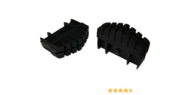 Hailo 9911-001 - Pack de 2 tacos antideslizantes con superficie ...