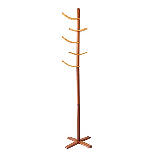 LQQGXL LQQGXLModern minimalist coat rack, Solid wood children's coat racks Hanging racks indoor creative parent-child hangers (Color : 1#) by LQQGXL
