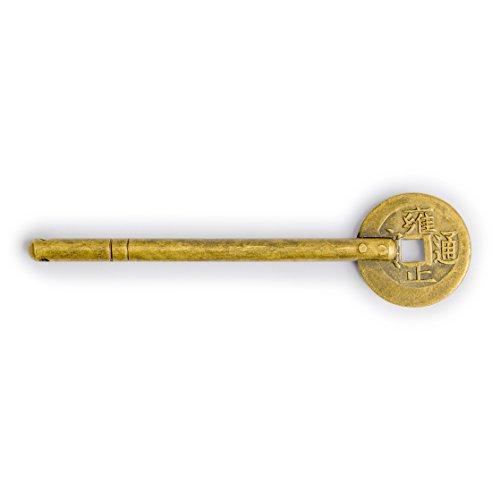 CBH Coin Brass Key Pins Hardware 4-1/2