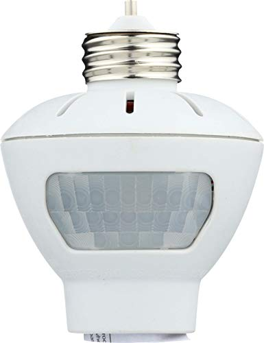Westek MLC166BC Indoor Motion-Sensing Light Control, White