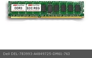 512x72 CL9 1.5v 240 Pin ECC Registered DIMM DMS Data Memory Systems Replacement for Dell A4849725 PowerEdge R610 4GB DMS Certified Memory DDR3-1333 PC3-10600 DMS