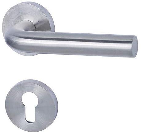 Pomo de puerta redondo de acero inoxidable, LEO, par, BB, PZ ...