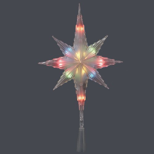 Kurt Adler UL1698M Indoor 10 Light Star of Bethlehem Treetop