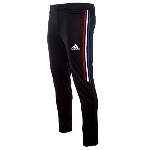 adidas TIRO 17 Training Pants - Black/Power Red/White / Bold Blue - Boys - M