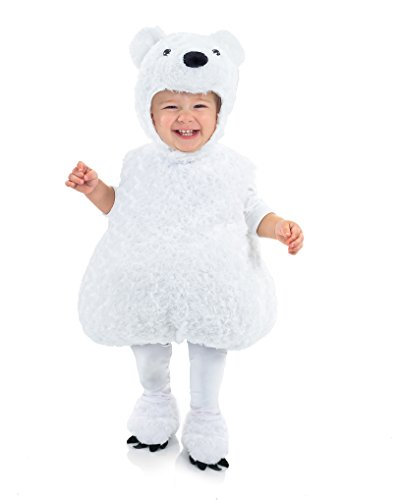 Underwraps Baby's Polar Bear Belly-Babies, White, X-Large ()