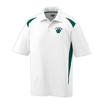 WHITE AND GREEN Premier Sport Shirt 2XL