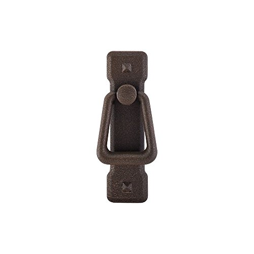 Top Knobs M237 Chateau Mission Ring Pull Rust