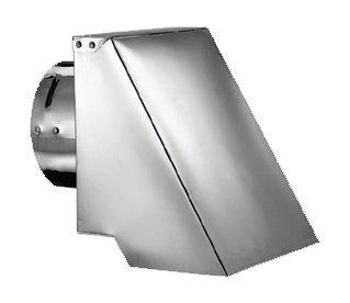 179103 3'' Square Horizontal Swivel Cap by DuraVent