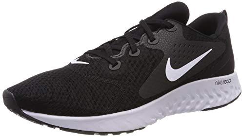 Nike Men's Legend React Running Shoe, Black White, Size 9.5 (Nike Legend)