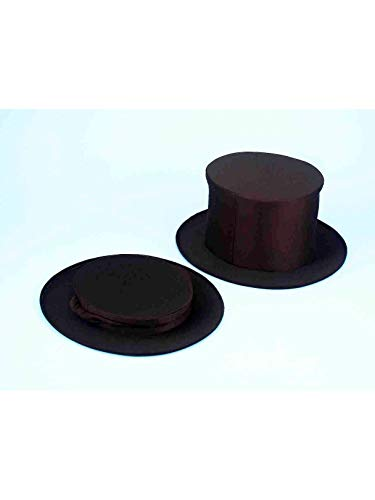 (Collapsible Black Top Hat Accessory for)