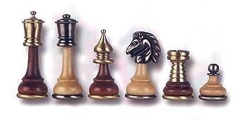 Cambor Italian Tournament Chess Set in Maple