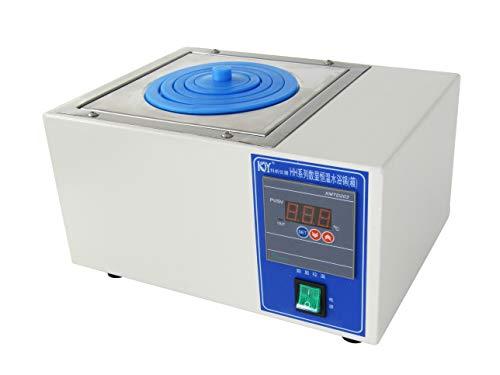 - YUCHENGTECH Digital Lab Single Hole Electric Heating Thermostatic Water Bath Boiler 150 x140 x95mm 300W (220V)