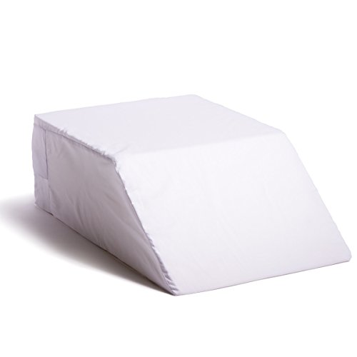 Hermell Products Inc. Rest Leg Elevating Pillow, 21 x 15 x 7 Inch, White