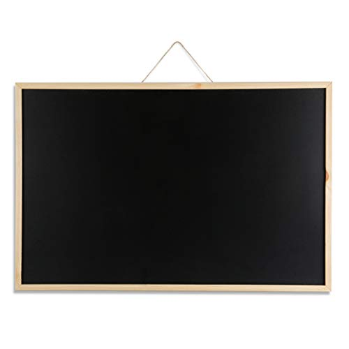 Marble Field 24''x36'' Wall Mounted Chalkboard Blackboard Bulletin Board for Home, School and Office, Wood Frame Chalkboard with 1 Eraser by Marble Field