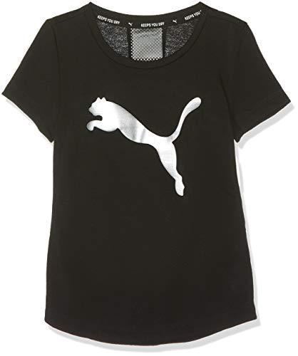 Maglietta metallic Sports G Black Puma Girl Tee Silver Active HI4xvqHT