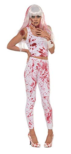 Forum Novelties Women's Blood Boutique Bloody Costume Leggings, Multi, Standard -