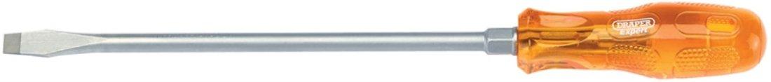 Sold Loose 8.0 x 150 mm Draper 43520 1x 43520Expert 8.0mm x 150mm Plain Slot Flared Tip Engineers Screwdriver
