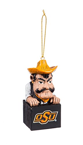Ncaa Ornaments (Team Sports America Oklahoma State University Team Mascot Ornament)