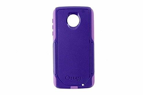 Motorola Moto Z Droid Otterbox Commuter - HopeLine Purple