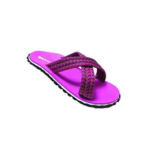 Sandal Footwear Women's Flip X Flats Flop Fuschia Ultimate Rockin Flip Runner Series Traction Flop 4Sq4t