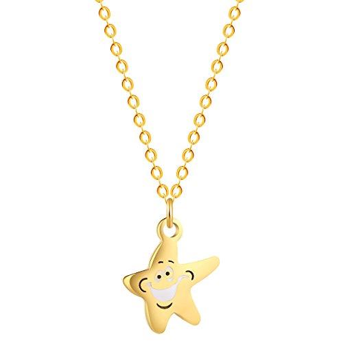 Starfish Pendant Charm Necklace - 7