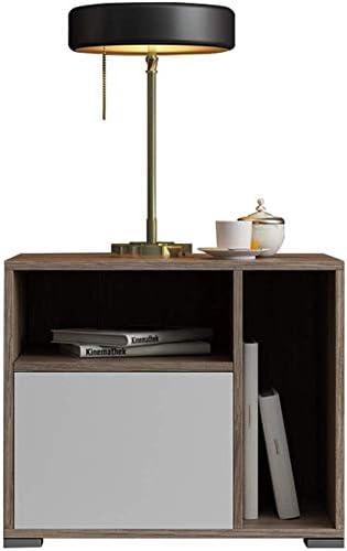 Giow Table de Chevet, tiroir Moderne, casier, Table d ...