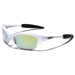 KIDS AGE 3-12 Half Frame Sports Sunglasses - Multiple Frame & Lens Colors