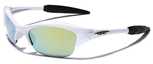 KIDS AGE 3-12 Half Frame Sports Sunglasses - Multiple Frame & Lens - Glasses Online Youth