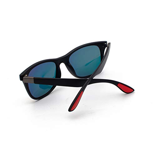 RQWEIN Fishing Polarized Sunglasses Polarized Sunglasses for Men and Women Semi-Rimless Frame Driving Sun Glasses