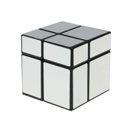 8 Bags 2X2 Sliver Mirror Cube Golden Black Speed Puzzles Twist Brain Teaser for Kids Toy Gifts 1//Bag