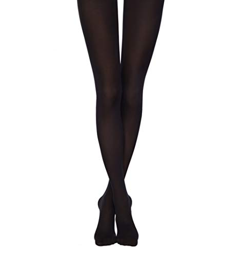 Conte Womens 50 denier Microfiber Footed Pantyhose Tights - Episode