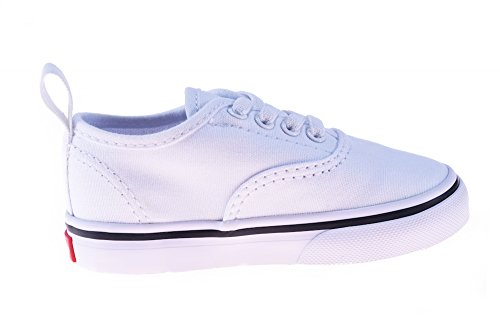 Vans Toddler Authentic Elastic Lace True White 7