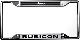 jeep rubicon license plate frame - 2