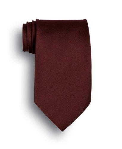 - Solid Series Silk Tie - Maroon