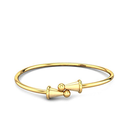 Candere by Kalyan Jewellers 22KT Yellow Gold Cuff for Girls