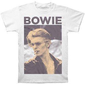 Silkscreen Concert Poster - David Bowie - Smoking T-Shirt, Medium